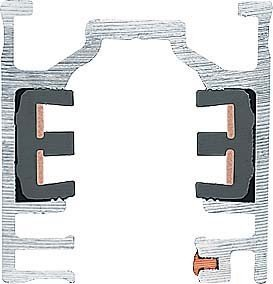 Zumtobel Stromschiene 3ph ws L3m S2 801270 von Zumtobel Licht, Lemg bei Lampenhans.de