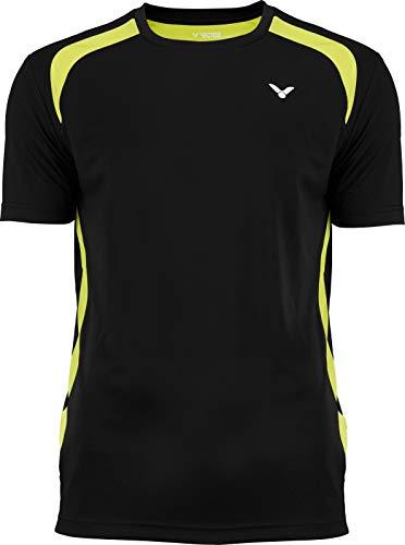 Victor T-Shirt Function Badmintonshirt, Black, M -