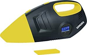 Windek RCP_B28C_5001 2-in-1 Vacuum Cleaner with Digital Tyre Inflator (Black and Yellow)