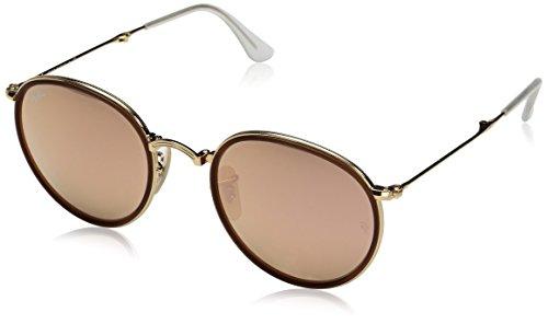 Ray-Ban Unisex Sonnenbrille Rb3517 Gestell: Gold, Gläser: Kupfer Flash 001/Z2), Medium (Herstellergröße: 51)