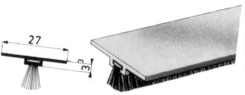 Format 8711286116034-dbs-tñrbodendichtung Nr. 0307091Alu 100cm