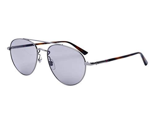 Gucci Sonnenbrillen (GG-0388-S 009) ruthenium - dunkel havana - grau