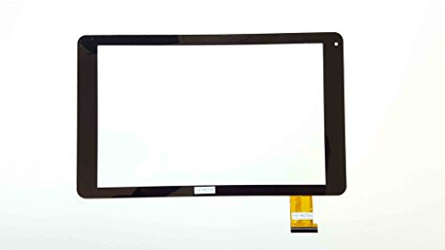 Schwarz Touchscreen Digitizer glas komp. Mit OYSTERS T104 HVI 3G (Glas Oyster)