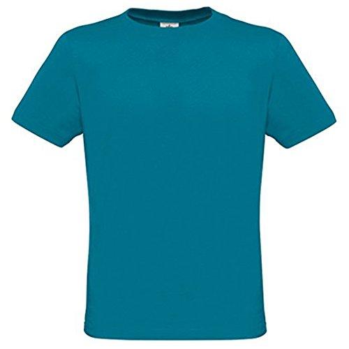 B&C Collection Herren Modern T-Shirt Diva Blue