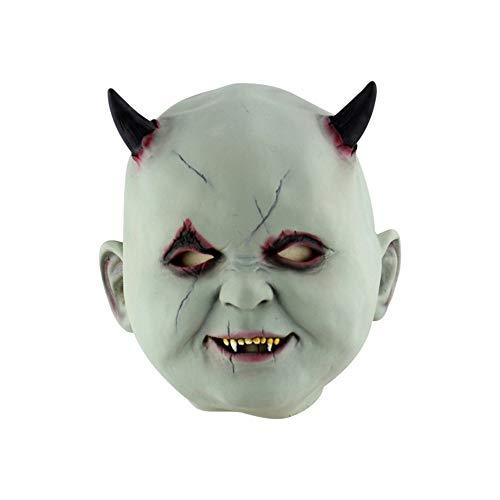 SCLMJ Halloween Latex Maske Alten Mann Latex Maske -