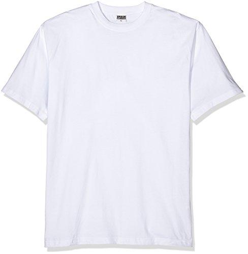 Urban Classics TB006 Herren T-Shirt Tall Tee | Oversize Shirt, Weiß (White 220), XXXX-Large