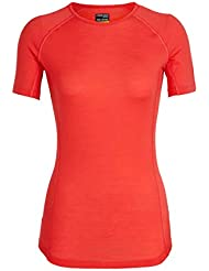 Icebreaker Women's 150 Zone Ss Crewe Base Layers