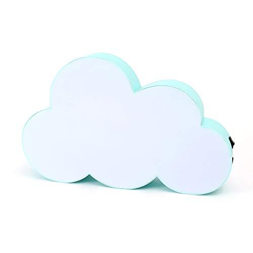 Handschrift Light Box, Lichtbox Wolkenblase Message Board, Deko Leuchtbox mit USB Netzteil und 3 Stift (Grün) -