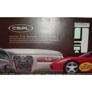 Honda Civic Dx Lx Ex Sedan 4 Tür 2001 2002 Innen Burl Holz Dash Trim Kit Set