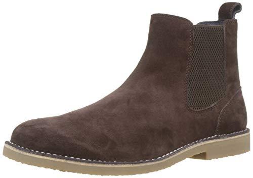 Tom Joule Joules Herren Halmore Chelsea Boots, Braun (Dark Brown Dkbrown), 43 EU