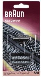 Braun Kombipack 585 für Braun Flex Control