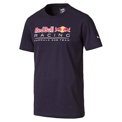 Puma Herren RBR Logo T Shirt, Night Sky, L