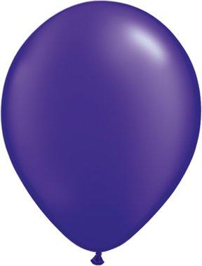 Unbekannt Qualatex 4359805-inch Rund Quarz Violett Latex Luftballons (100)