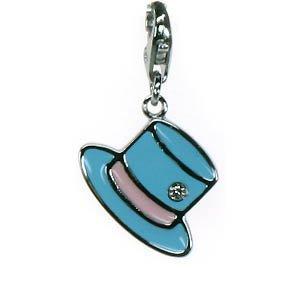 linder in 4 verschiedenen Farben - für Bettelarmband mit Karabiner - für Kinder (Blau) ()