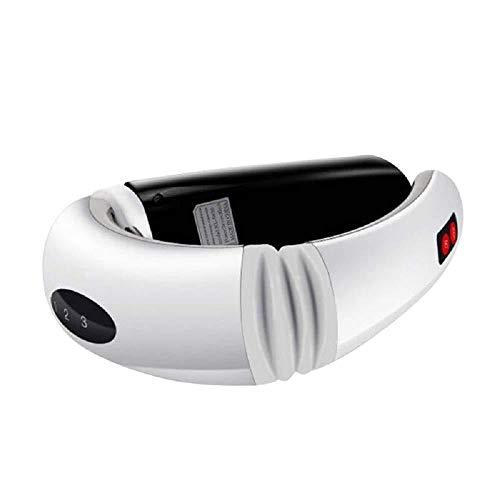 XSSD001 Massager Multifuncional del Cuello, Cuello del Cojín del Electrodo De La Fisioterapia, Massager, Cuidado Auxiliar,Blanco