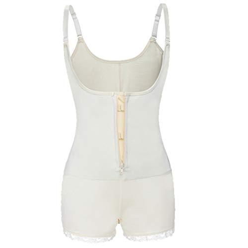 Generic Ganzkörperformer Frauen Latex Modellierung Bodysuit Shapewear Taille Cincher Unterbrust Overall Hosen Abnehmen Korsett