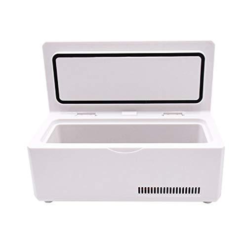 Tragbare Mini-Insulin-Kühlbox, 2-8 Grad Isolierung Auto Zuhause Batterie Laden LCD Display Reefer Auto kleiner Kühlschrank