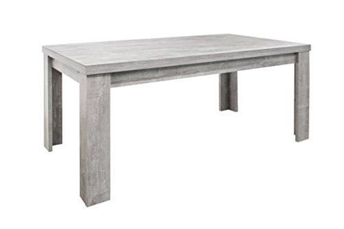 0557/160-260 Monza beton grau Optik Esszimmertisch Küchentisch Speisezimmer ca. 160 cm