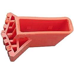 Zinniaya Échelle ronde couvre-pied Exquis Durable Multi-fonction pliante Échelle couvre-pied en forme d'éventail tapis antidérapant