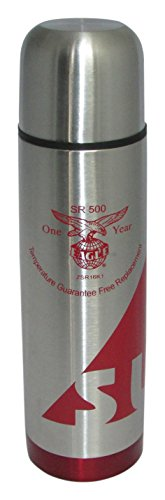 EAGLE Flask 1000 ML Red Sleek With Pouch Bag (with 1 year warranty)  available at amazon for Rs.980