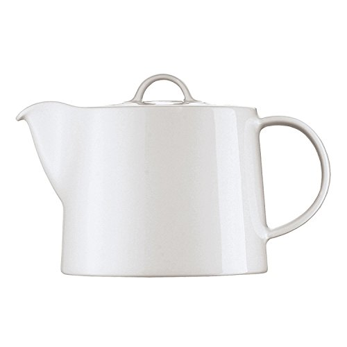 Arzberg Cucina Teekanne / Kaffeekanne / 2 Personen, Tee Kanne, Porzellankanne, Basic White,...