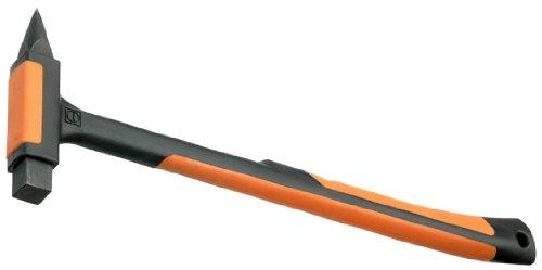 Picard 008390 Fliesenhammer mit ergonomischen 2-Kompenenengriff, Hartmentallspitze