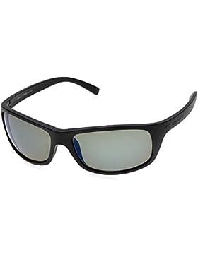 Serengeti Bormio Gafas, Unisex Adulto, Negro (Satin Black), M