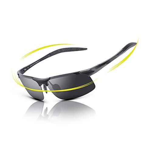 018f889590 fawova Gafas de Sol Hombre Polarizadas Deportivas, Ultralight Originales de Gafas  Sol Ciclismo con UV400