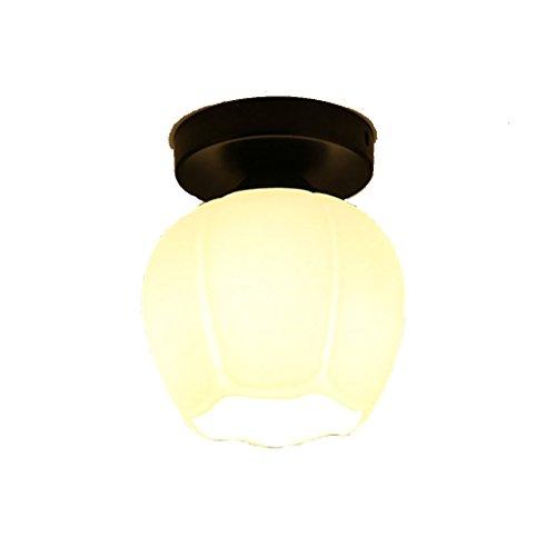 GBYZHMH Deckenleuchte - AMERICAN-STYLE E27 Deckenleuchte im Europäischen Stil Flurlampe Gang Licht Balkon Ankleidezimmer Bügeleisen Lampen Leuchtstoffröhre LED Metalldampflampen (Größe: D) (Metalldampflampe White Warm)