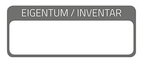 AVERY Zweckform 6901 Inventar-Etiketten (50 Stück, 50 x 20 mm, laminiert) 10 Bogen schwarz