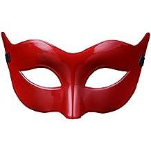 Mascarilla de Mujer Color Sólido Halloween Disfraces Juguetes Antifaz para Veneciano Mascarada Carnaval Fiesta