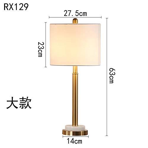 Tischleuchte Schreibtischlampe Leselampe Licht Luxus Moderne Metall Tischlampe Schlafzimmer Nachttischlampe Continental Wohnzimmer Warm Taste Schalter Continental-taste