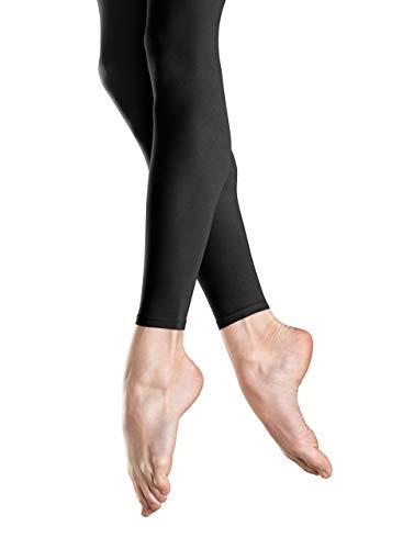 Bloch Endura Footless Dance Tights, schwarz, S