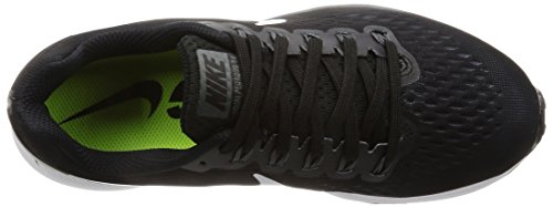 Wmns Schwarz Zoom Dk Laufschuhe Pegasus Grey 34 Black Anthracite Nike Damen Air White gqxt50