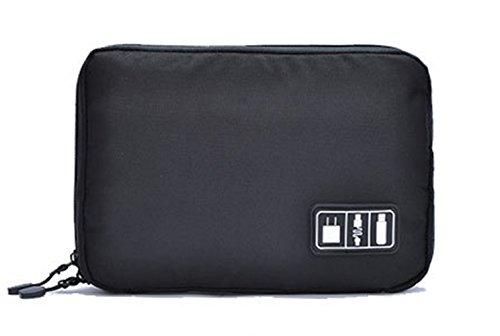 Preisvergleich Produktbild 'Ishow tragbar Digital Gadget Organizer Kabel Halterung Wasserdicht schwarz