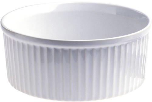 Revol 638799 Backform Souffle 8,4 cm, Porzellan, Weiß