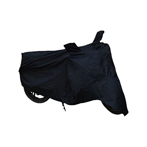 Retina Universal Motorcycle Body Cover (Black)