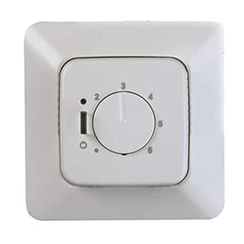 Niessen tacto - Tapa termostato con interruptor 8140.1 tacto plata