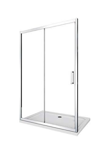 Laneri porta doccia scorrevole con nicchia anticalcare 110 115