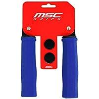 MSC Bikes GRIP05 Puños de Espuma, Azul, 125 mm