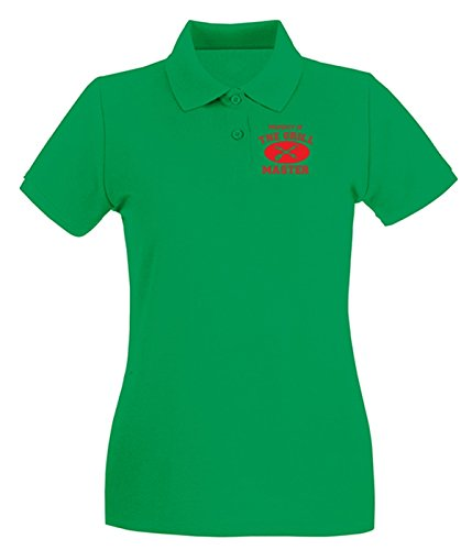 Cotton Island - Polo pour femme OLDENG00853 property of grill master Vert