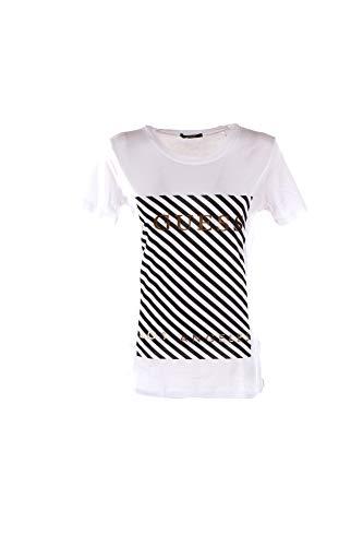 Guess Stripes T-Shirts & Poloshirts Damen Weiss - S - T-Shirts