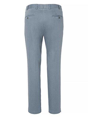 Hiltl Pantalon Chino Pian Coupe moderne Homme bleu pigeon