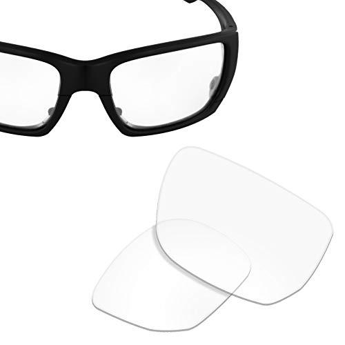 Ersatzgläser für Oakley Style Switch (1,8 mm dick) UV400, Elfenbein (Hi-def Clear), Einheitsgröße (Ersatz-linsen Schalter)