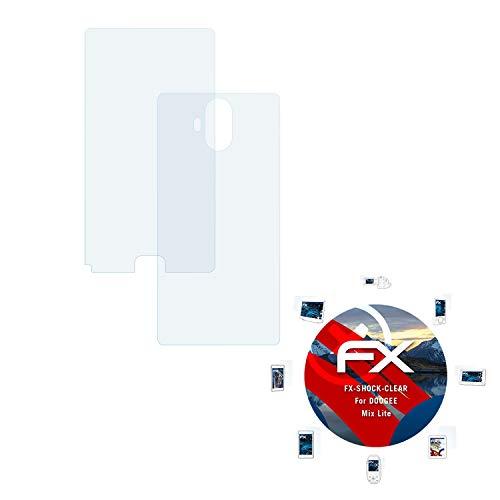 atFolix Schutzfolie kompatibel mit DOOGEE Mix Lite Panzerfolie, ultraklare & stoßdämpfende FX Folie (3er Set)