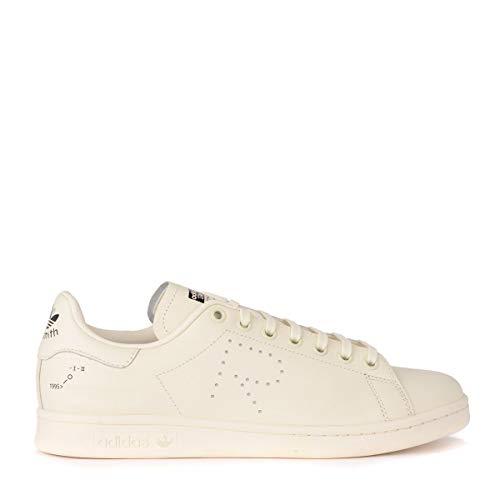 wholesale dealer 374bd 0d9de ADIDAS X RAF Simons Sneakers Stan Smith in Pelle F34256 White - Brown Size:8