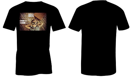 Erlaube Dir Regelmaessig Einen Tag Nichtstun 4 ★ Rundhals-T-Shirt Männer-Herren ★ hochwertig bedruckt mit lustigem Spruch ★ Die perfekte Geschenk-Idee (01) schwarz