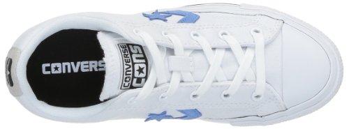 Converse Sp Core Canv Ox 289161-52-10 Unisex - Erwachsene Sneaker Weiß (Blanc/Bleu)