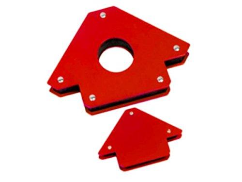 2 Stück Magnet-Schweißwinkel / Schweißmagnete in Bestqualität! (1 klein, 1 groß)