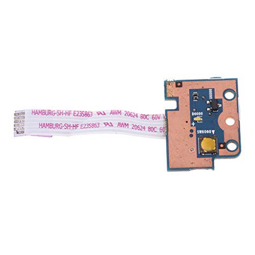 Power Button Led Board (FLAMEER für HP Pavilion G6-1000 Series Laptop Power Eject Button LED Board 6050A2417701)